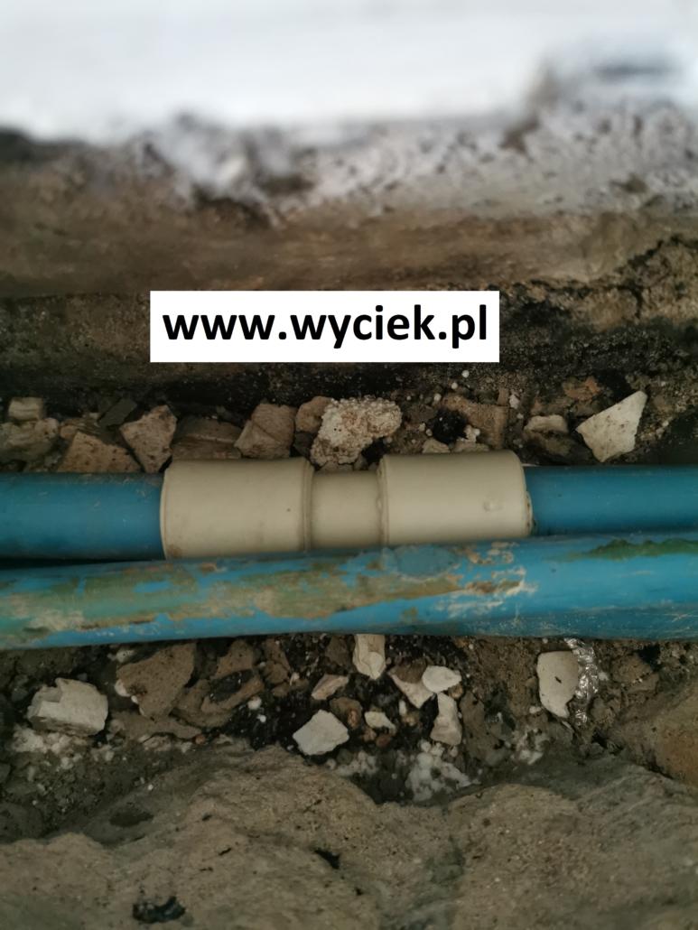 Naprawa nieszczelnej instalacji wodnej